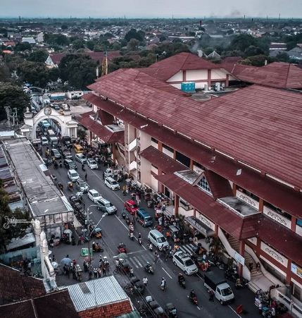 Pasar Klewer Solo @740aerialvideography